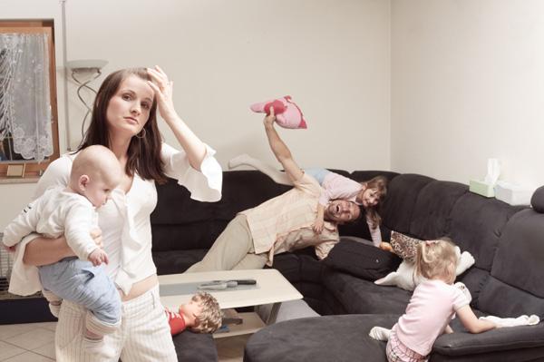 Mamme: attente allo stress!