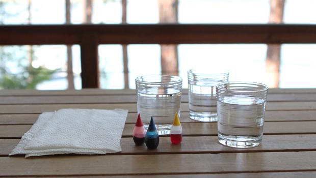Scienza a casa: esperimenti con i mix di colori