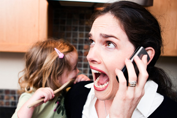 Lasciate in pace la neo-mamma! (senza prenderla troppo sul personale...)