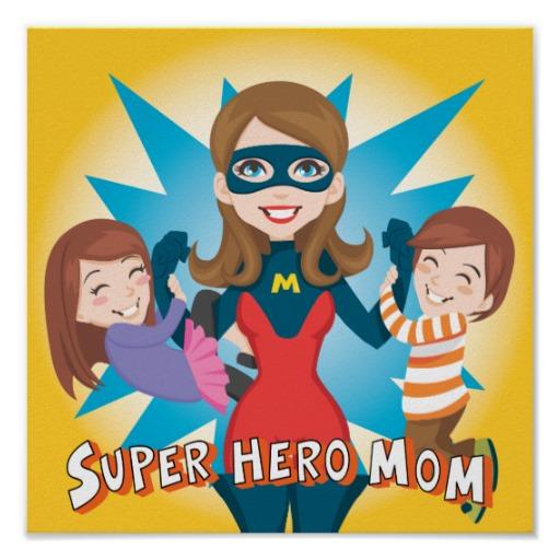 Non chiamateci mamme casalinghe, siamo SuperEroine!