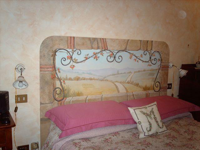 Il letto il fulcro della camera da letto mamme magazine - Testa del letto ...