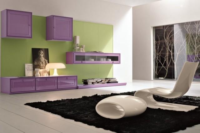Come organizzare il vostro soggiorno mamme magazine for Salotti colorati