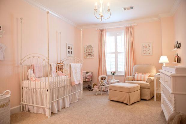 Cameretta in stile rosa antico per la vostra bambina - Mamme Magazine
