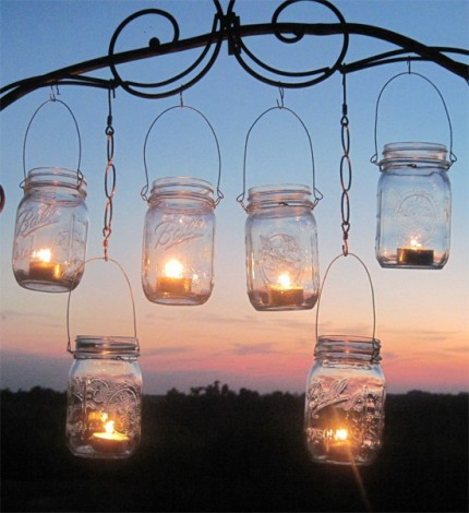 Lanterne appese fai da te mamme magazine - Lanterne portacandele ...