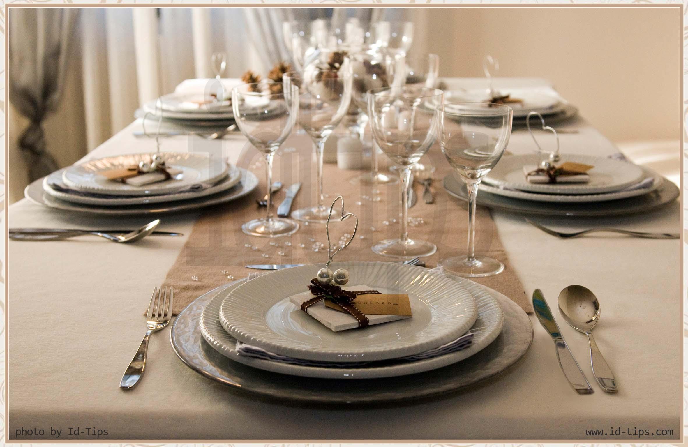 Tavola Apparecchiata Per Pranzo Tradizionale Con Antipasto Pictures To  #91663A 2362 1535 Come Addobbare Una Sala Da Pranzo Per Natale