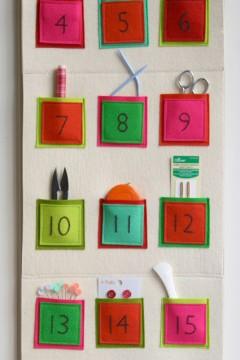 Creare Calendario Avvento.Calendario Dell Avvento In Feltro Per I Bambini Mamme Magazine