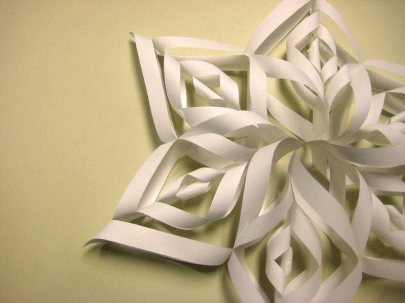 Fiocchi Di Neve Di Carta Facili : Come fare fiocchi di neve intagliati con i bambini mamme magazine