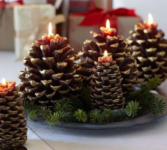 Eccezionale Lavoretti di Natale con le pigne - Mamme Magazine FL27