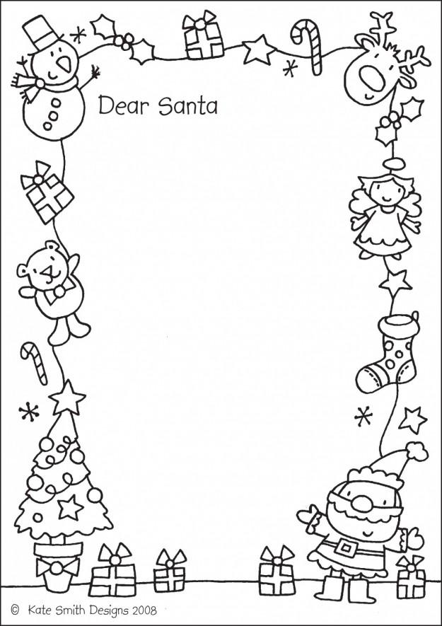 Dibujos De Papa Noeles Para Decorar El Aula