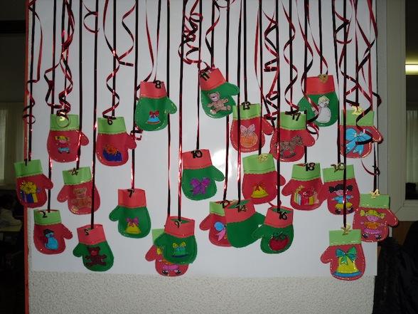 Calendario dell'Avvento in feltro per i bambini | Mamme ...