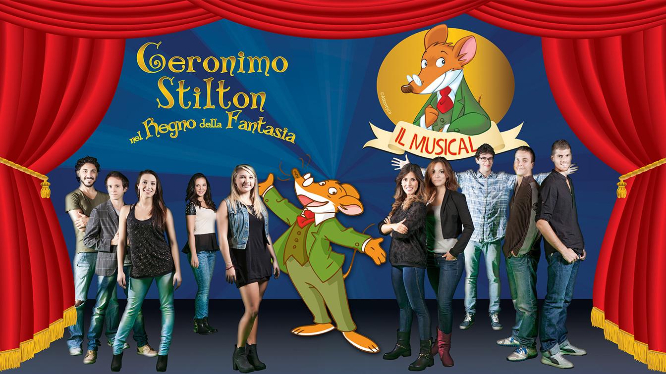 Date tour 2014 musical geronimo stilton mamme magazine for Cruciverba geronimo stilton