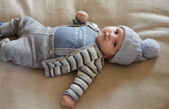 Come vestire il neonato in inverno  7bcec9cb6d30