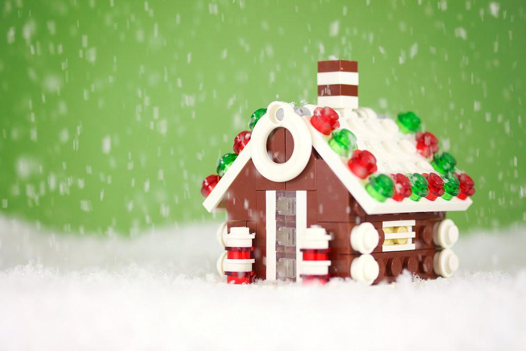 Casetta Di Natale Da Colorare : Decorazioni casetta natale di zenzero mamme magazine