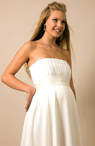 Quali abiti da sposa in gravidanza for Robes de grossesse pour mariages