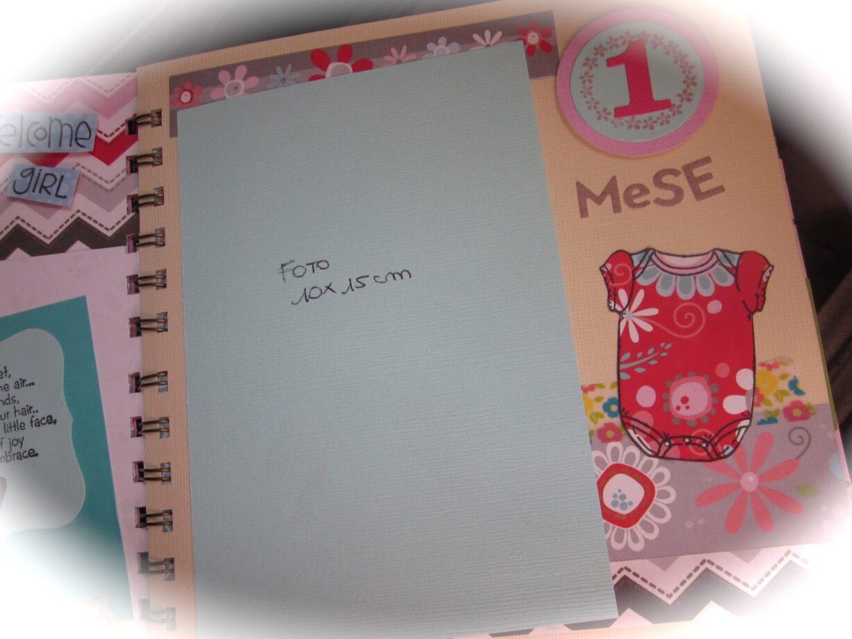 Conosciuto Idee creative per realizzare album fotografico primo mese - Mamme  QB22