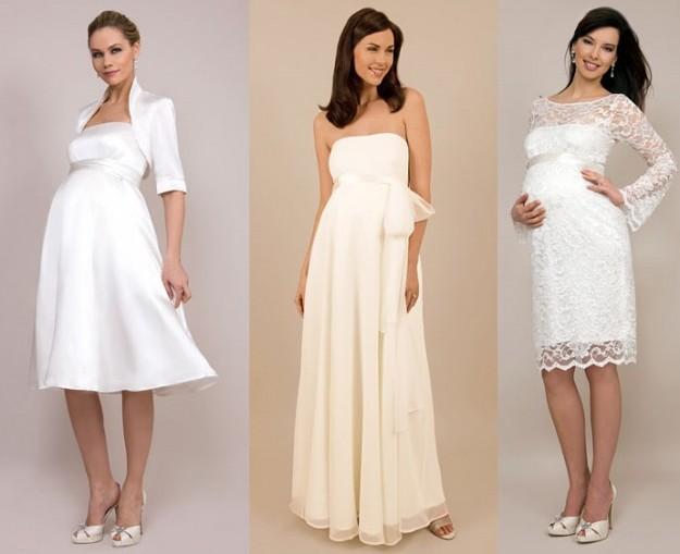 Abito testimone incinta