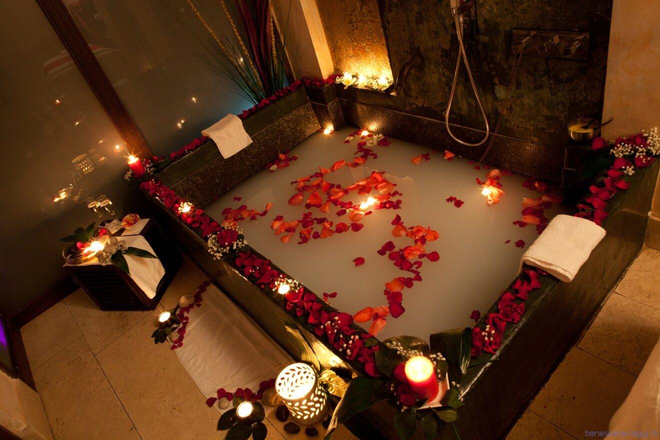 Idee regalo percorso benessere di coppia per san valentino - Candele per bagno ...