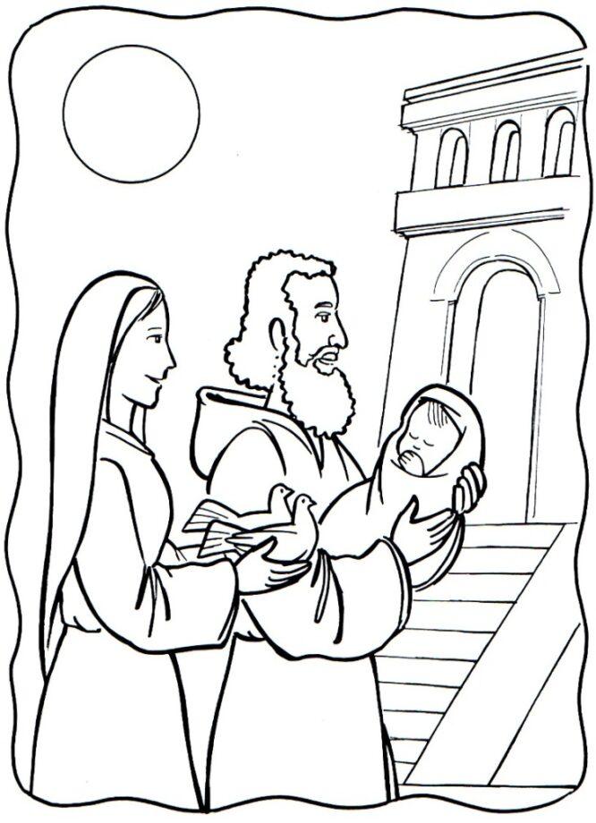 disegni festa della candelora per asilo