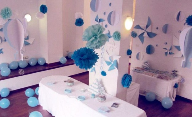 Idee originali per decorare tavola festa battesimo mamme for Decorare casa