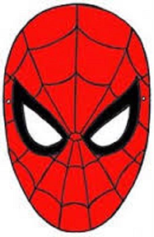 Disegni maschere di carnevale da ritagliare mamme magazine Disegni spiderman da colorare gratis