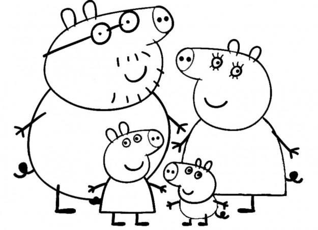Disegni Da Colorare Per Bambini Peppa Pig Mamme Magazine