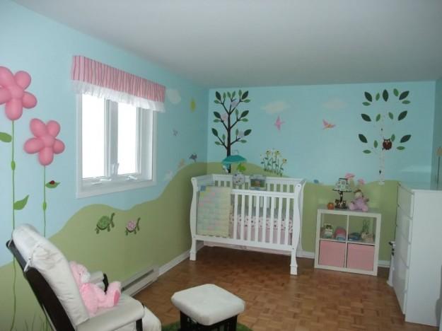 Decorare cameretta neonato aj21 pineglen - Decorare camera bambini ...