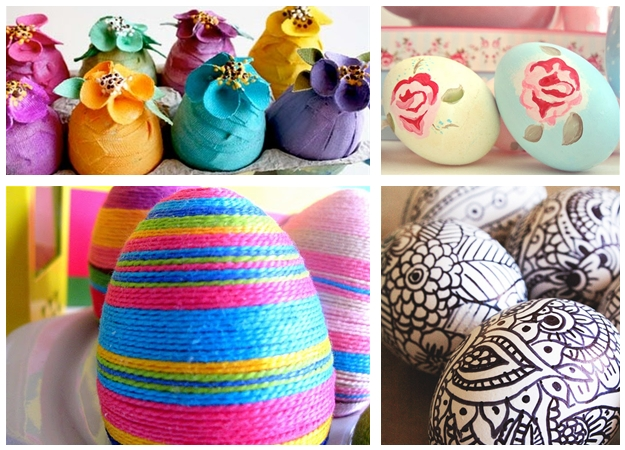 Come decorare uova di polistirolo centrotavola pasqua 2015 mamme magazine - Decorare le uova per pasqua ...
