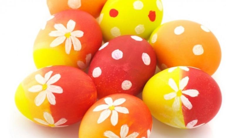 Come decorare uova sode per centrotavola colori pastello - Decorare uova di pasqua ...