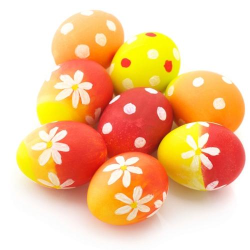Come decorare uova sode per centrotavola colori pastello pasqua 2015 mamme magazine - Decorare le uova per pasqua ...
