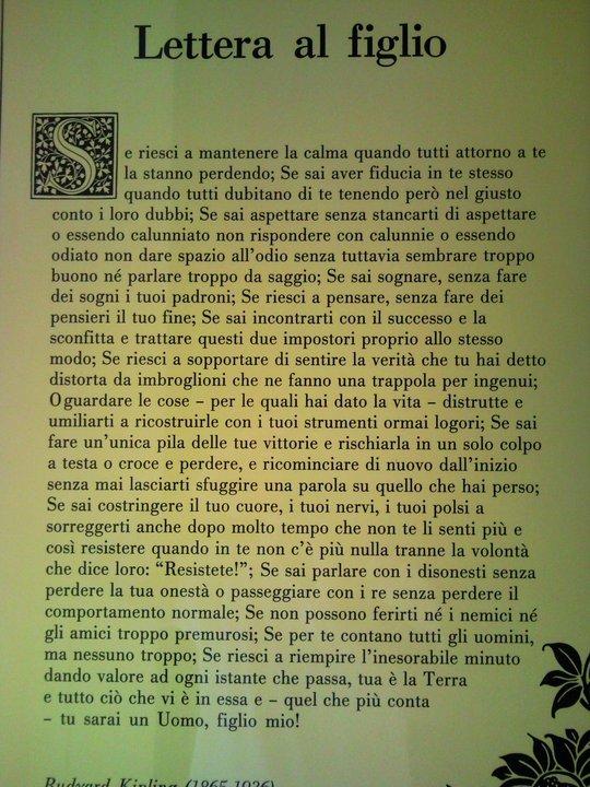 Lettera Figlio Di Kipling Mamme Magazine
