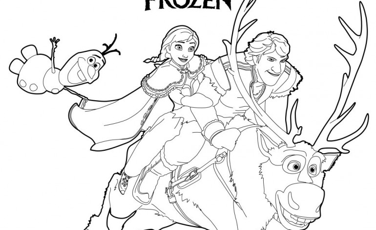 Disegni Frozen Da Colorare Online Fredrotgans
