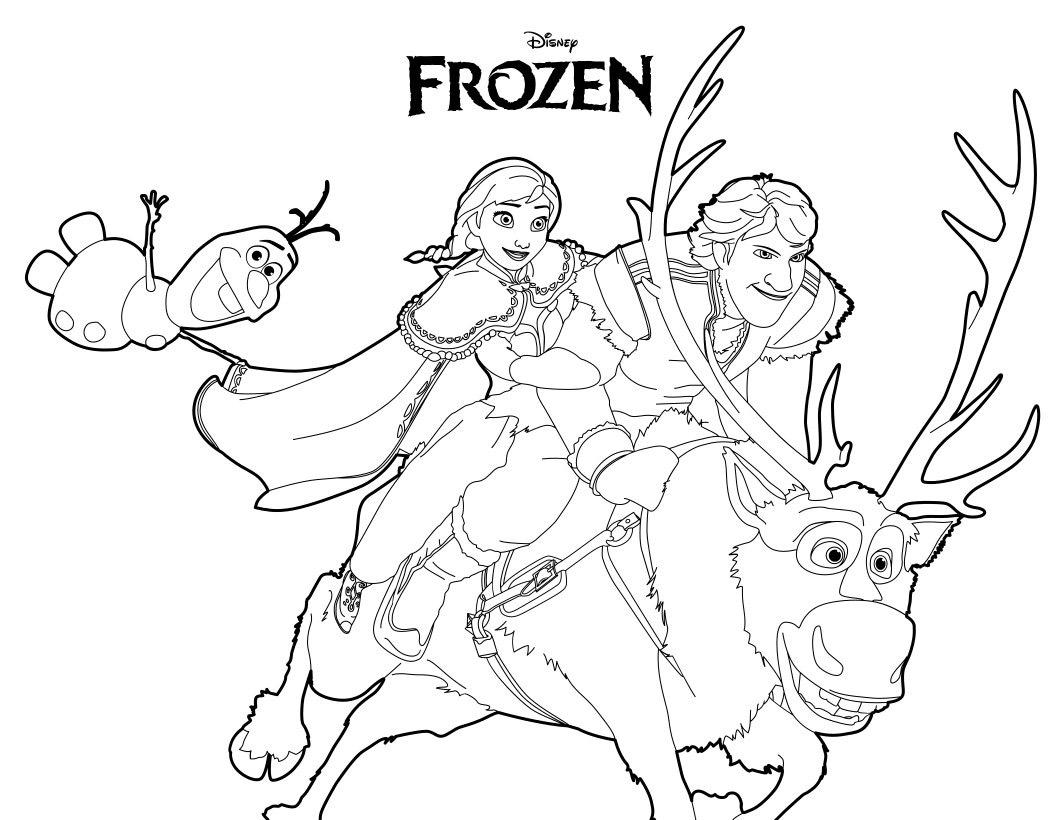 Disegni Da Colorare Olaf Frozen Mamme Magazine