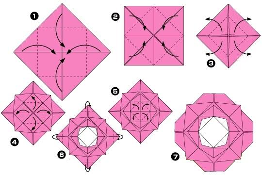 Come Fare Una Rosa In Origami