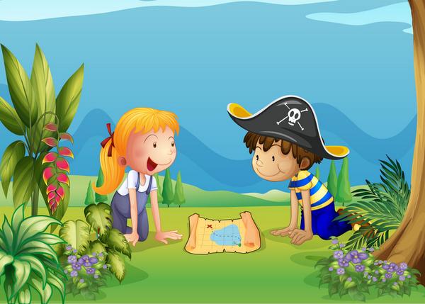 Caccia Al Tesoro Bambini 5 6 Anni : Come organizzare una caccia al tesoro per festa bambini di anni
