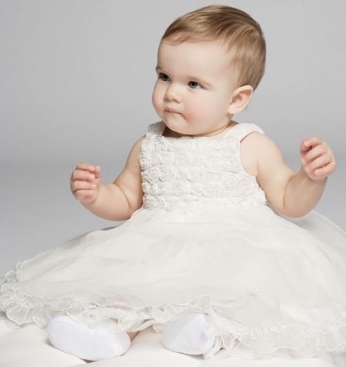 vendita calda a buon mercato acquistare la migliore vendita Vestiti neonata battesimo estate | Mamme Magazine
