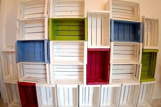 Classifica 10 modi originali per riciclare cassette della for Ikea cassette legno