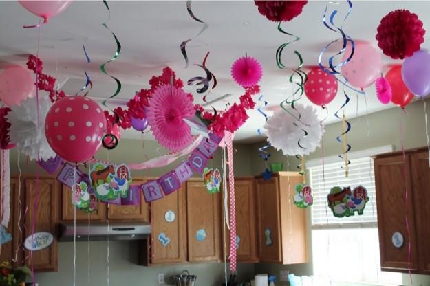 Idee originali per decorare casa festa 18 anni figlia mamme magazine - Addobbi tavoli per 18 anni ...