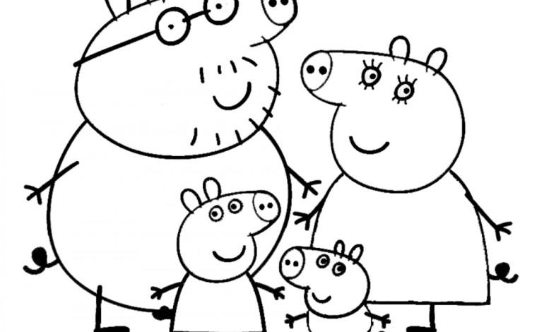 Disegni da colorare peppa pig mamme magazine for Peppa pig disegni da colorare