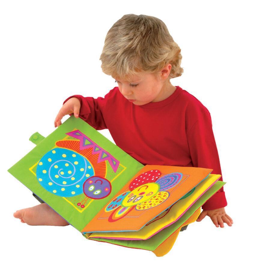 Libri di stoffa per bambini 3 anni mamme magazine - Bambini in piscina a 3 anni ...