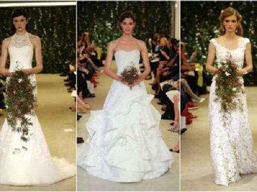 06af034857e7 Collezione abiti da sposa Carolina Herrera 2016
