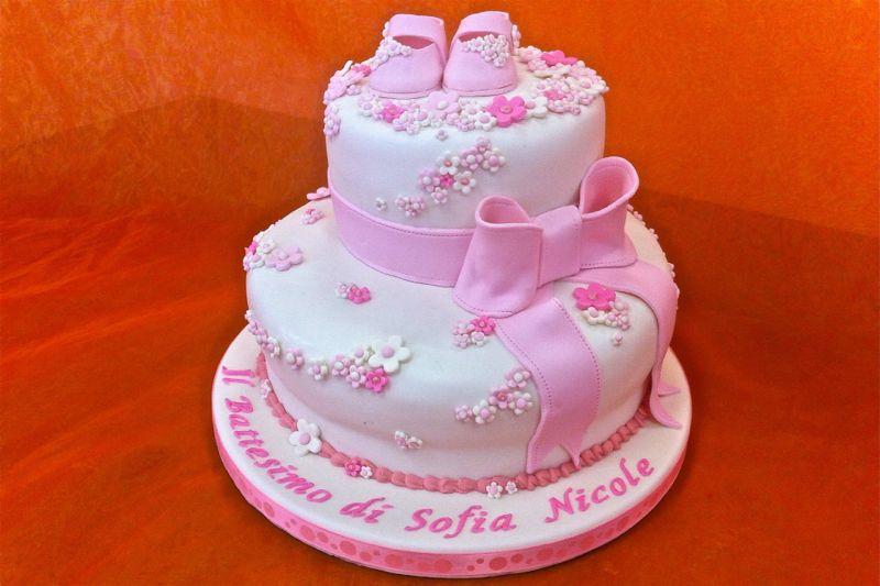 Preferenza Torta battesimo cake design bambina - Mamme Magazine XL98