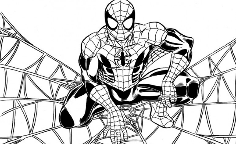Disegni da colorare Spiderman