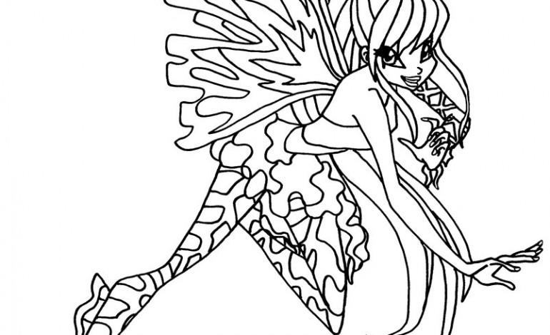 Disegni da colorare tecna sirenix mamme magazine for Disegni winx sirenix da colorare