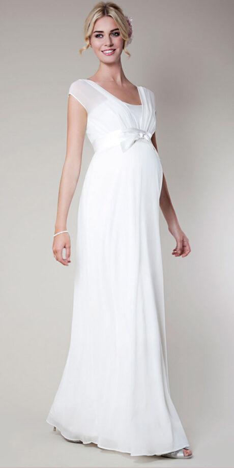 more photos fe237 db752 5 migliori abiti da sposa premaman | Mamme Magazine