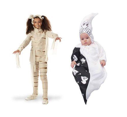 prezzo competitivo più vicino a migliore a buon mercato Idee costume di halloween mummia bambino | Mamme Magazine