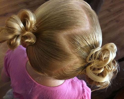 Favorito Acconciature capelli bambine per lezione di danza - Mamme Magazine FA32