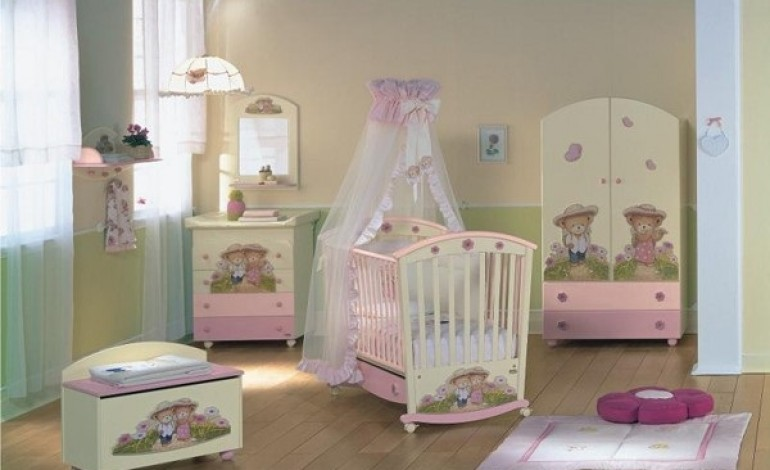 Come arredare cameretta neonato - Arredamento cameretta neonato ...