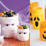Come decorare cestini per Halloween
