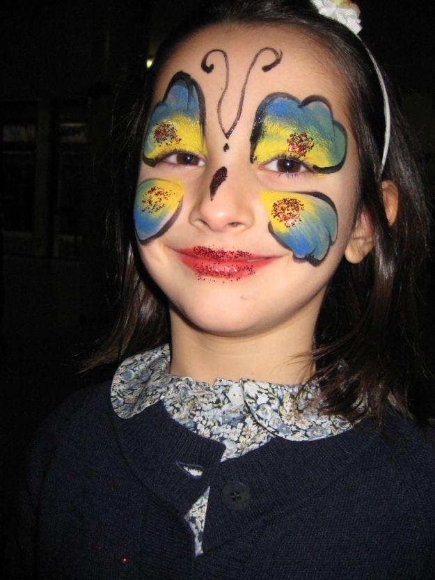 Ben noto Come fare trucco farfalla per bambina - Mamme Magazine QM92