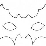 Come fare maschera di pipistrello per Halloween